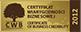 Złoty Certyfikat Wiarygodności Biznesowej za rok 2012